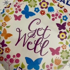 Get Well Soon Balloon from Floral Desire Florist Bishops Stortford